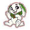 4165-decorated-snow-rabbit-sticker