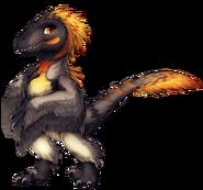 Penguin Velociraptor