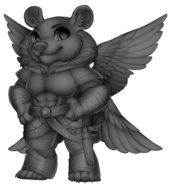 Angelic bear Base