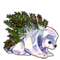 4197-decorated-snow-porcupine
