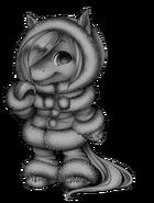 Fluffy horse base