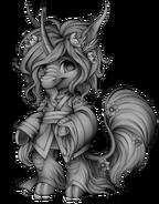 Mythical horse