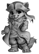 Pirate wolf base