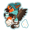 4166-magic-cozy-gryphon-sticker