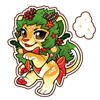 4170-magic-wreath-lion-sticker