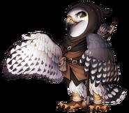 Falcon archer