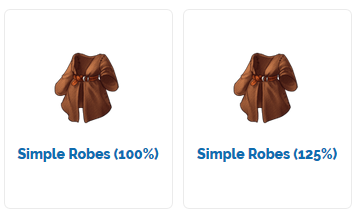 Simple-Robes