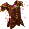 3077-flowering-reinforced-leather-armour