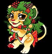 Wreath Lion Chibi