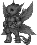 Angelic gryphon base