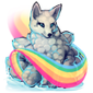 3050-rainbow-cloud-kitsune