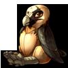 1096-bearded-vulture-raptor-plush