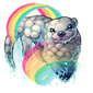 3067-rainbow-cloud-otter