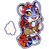 4168-magic-giftwrap-tiger-sticker