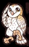 Owl-sticker