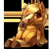 918-palomino-horse-plush