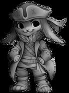 Pirate rabbit base