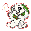 4164-magic-decorated-snow-rabbit-sticker