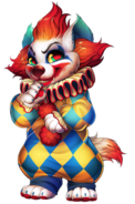 Clown Hyena