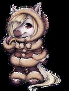 Fluffy Horse