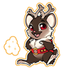 4174-magic-reindeer-rodent-sticker