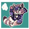 4410-magic-moon-mask-raccoon-sticker