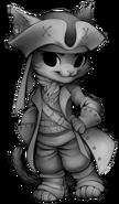 Pirate cat base