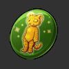 4157-golden-tiger-button