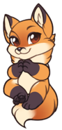 Fox-chibi-red