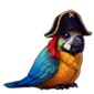 2605-harlequin-pirate-parrot