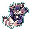 4411-moon-mask-raccoon-sticker