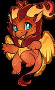 Dragon-chibi-feathered