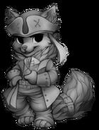 Pirate fox base
