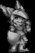 Knight rabbit base