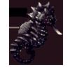 Black-seapony
