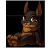982-black-tan-rabbit-plush