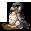 1090-peregrine-falcon-raptor-plush