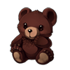 Grizzly Teddy Bear