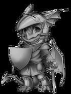 Knight dragon base