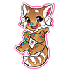 4173-gingerbread-red-panda-sticker