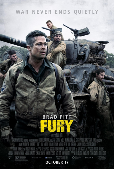 Fury Theatrical Poster