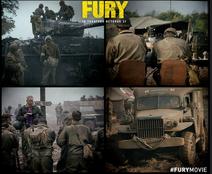 Fury Press Photo Lobby card Chris wilson