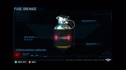 Fuse Grenade