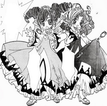 Fine and Rein's First Transformation in the Manga
