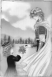 Nakago and Taria