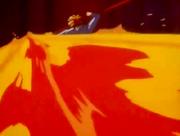 Tasuki shoots Flames