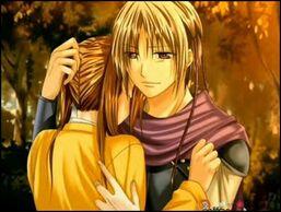Shigi and mariko sad hug