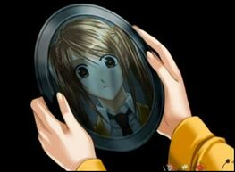 Mariko is reflected