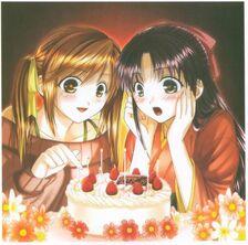 Mari mia cake