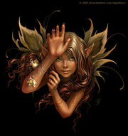 Fairy-one-black-background
